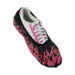 Blitz Shoe Covers Pink Flames